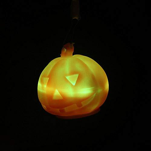 Gneric Seil Nachtlicht Leuchtspielzeug bunter Blitz Anhänger fünf spitz Stern Schling Octopus Kürbiswal Dolphin Kürbis Nachtlicht mit Seil