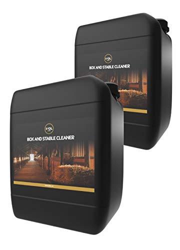 2X 5LTR Equine Box e Stable Cleaner – Pulizia scatole per Cavalli, stalle e Cortili, 5 Litri