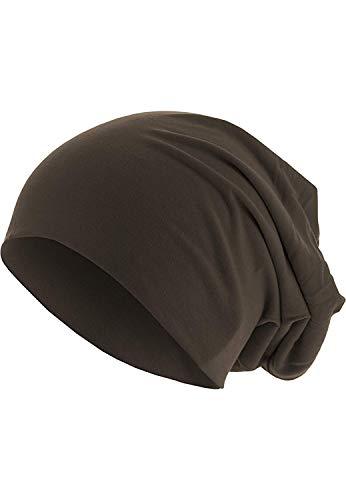 MasterDis KMA - Bonnet En Jersey 10285 - Marron, Taille unique