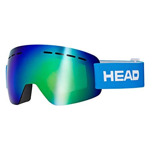 HEAD Unisex– Erwachsene SOLAR Skibrille, FMR blau, L