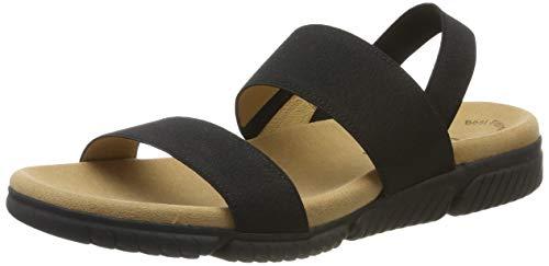 Gabor Shoes Damen Gabor Jollys Riemchensandalen, Schwarz (Schwarz 87), 42 EU