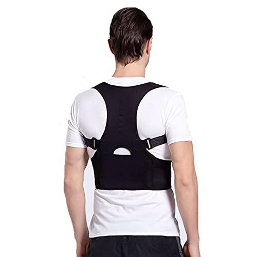 LQMM Einstellbare Sitzen Haltungskorrektor Korsett Back Support Gürtel Taille Unterstützung Herren- und Damenkorrektor klein, mittel, groß, x-groß, xx-groß, XXX-groß 720