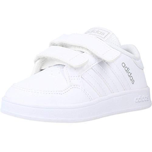 adidas BREAKNET I, Zapatillas de Tenis, FTWBLA/FTWBLA/FTWBLA, 23 EU