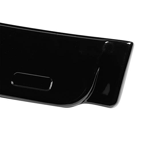 Changor ala de alerón de Techo Trasero aerodinámico, Viseras de Ventana Negra de plástico de Techo para 3 Series E90 y M3 2006-2011