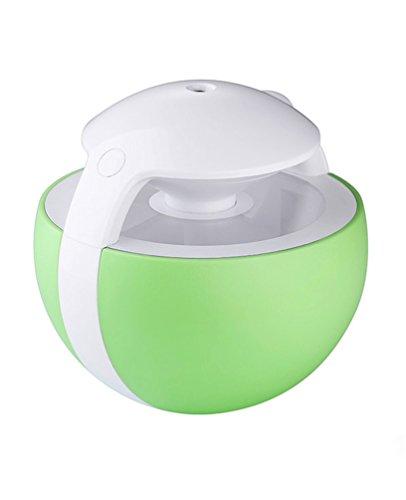 Shenhai Humidificador Home Silent Bedroom Replenishing Spray Humidificador portátil, Verde