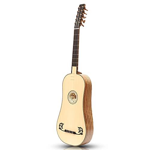 Heartland Sellas - Guitarra barroca, 5 cursos de nogal izquierda