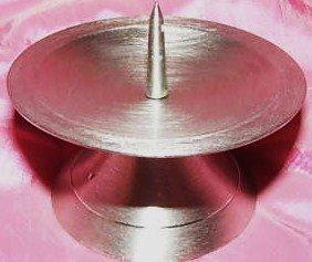 Kerzenständer Kerzenhalter für Taufkerze Kommunionkerze 40-80mm Durchmesser VT-18