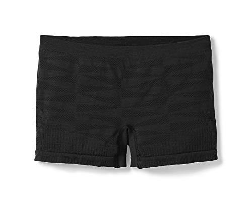 Smartwool Women's Seamless Boyshort Underwear Black