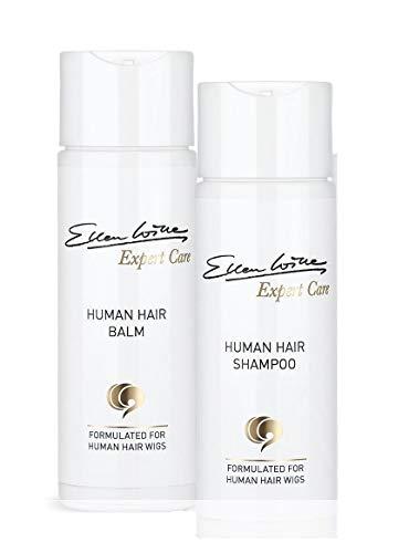 Ellen Wille PurePower Pflegeset Shampoo + Balsam für Echthaar Perücken Haarteile