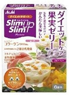 スリムアップスリム プレシャス ダイエットケア 果実ゼリー 6食分×3個セット