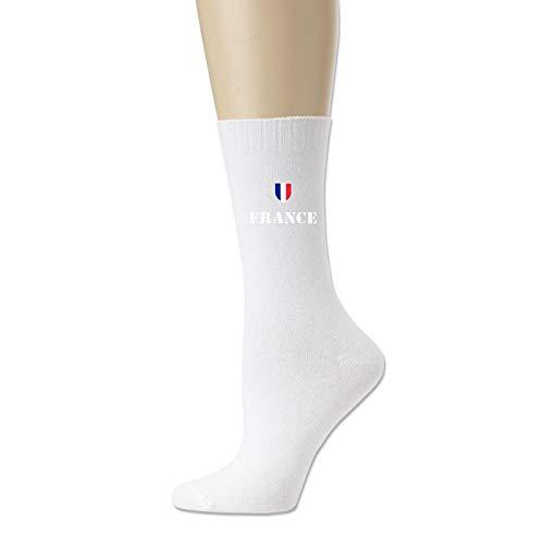 Cotton Socks for Men and Women France Soccer Football Novelty Sock Unisex