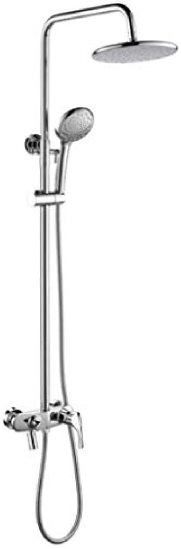 LHW Shower Set chset, Alles Kupfer, Dusche Wasserhahn, Dusche Set, hei und kalt, Dusche, Bad Dusche, Wand Dusche, Handbrause