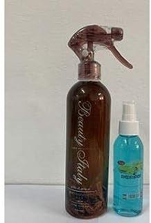معطر وملطف جو وفراش ومفارش وسيارة بيوتي إيطالي عود + بلاك أيسBeauty Italy air freshener Oud 460 ml + Car freshener Black I...