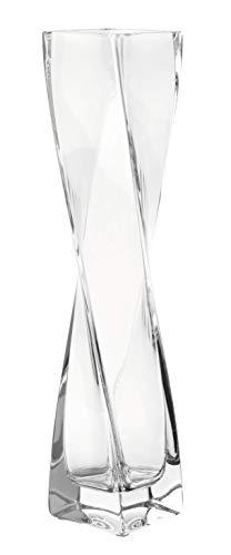 Leonardo Solifleurvase Volare, mit massivem Eisboden, Höhe 30 cm, handgefertigtes Klarglas, 014085