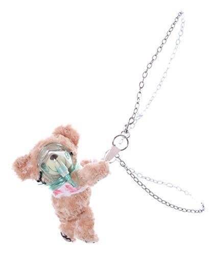 Kawaii-Story LB-235 Beige Teddy Bär verletzt Bandage Maske Plüsch Tasche Lolita Pastel Gothil Punk Harajuku