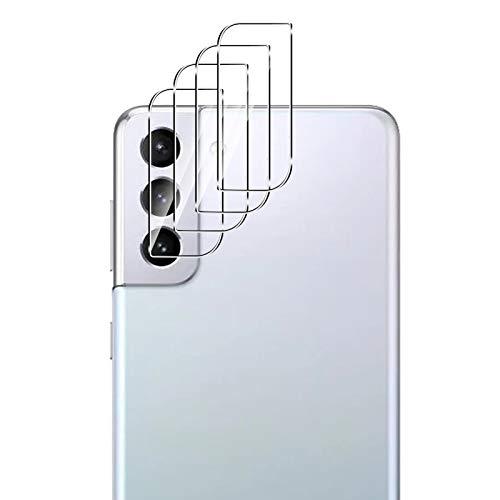 QULLOO per Samsung Galaxy S21 Pellicola Fotocamera, AntiGraffio Protettore Fotocamera in Vetro Temperato per Samsung Galaxy S21 Smartphone - 4 Pezzi
