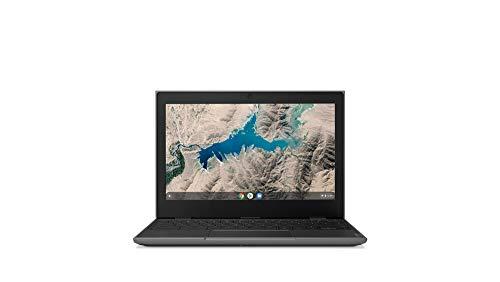 Lenovo 100E Chromebook 2ND Gen 81QB000AUS Laptop Computer, 11.6' HD (1366 X 768) Display, MediaTek MT8173C Processor, 4GB RAM, 16GB eMMC TLC SSD, Powervr GX6250, Chrome OS, Black