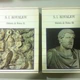 HISTORIA DE ROMA 2 volumenes Biblioteca de la historia.