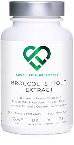 Extracto de brotes de brócoli + Extracto de té verde matcha de LLS   Contiene sulforafano activado   60 cápsulas   15,000mg de equivalente de planta entera por porción   Potente contenido antioxidante