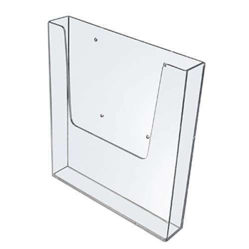 5 x A5 Portrait Wall Mountable Menu/Leaflet Holder/Dispenser LDS5100 100% Recyclable! Free Delivery!