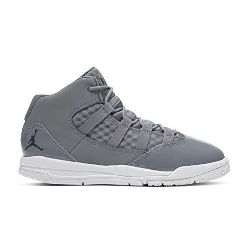 Nike Jordan MAX Aura, Zapatillas de Deporte para Niños, Multicolor (Cool Grey/Black/White/Clear 010), 35 EU