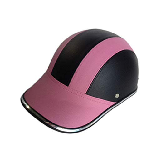 ErYao Unisex Bicycle Helmet MTB Road Cycling Mountain Bike Sports Safety Helmet, Sports Safety Cap (Pink)
