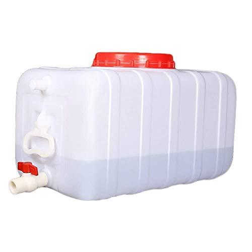 ZfgG Outdoor Water Tank Groot voedsel Grade Thuis Auto Water Opslag Container Met Deksel/Kraan/Handvat, Rechthoekige Regenwater Collectie Barrel Enzyme Barrel