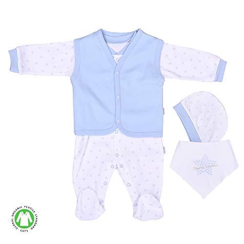 Sevira Kids - Coffret de vêtements naissance en coton bio, DREAMS