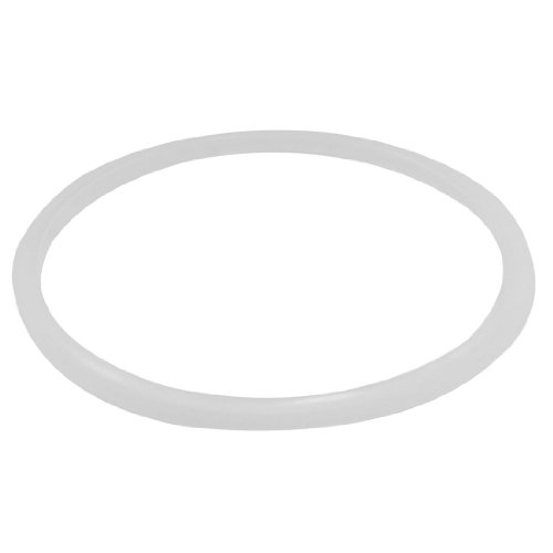 uxcell Rubber Seal Sealing Ring for Cooker 18cmx20cm Clear White