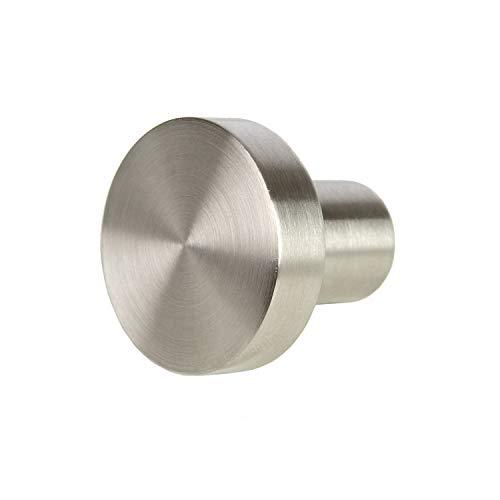 SO-TECH® Möbelknopf EK03 Ø 30 x 28 mm echt Edelstahl Knopfgriff