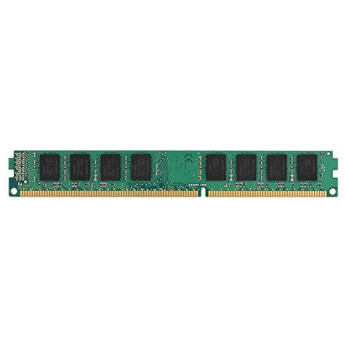 Memoria RAM DDR3 2GB PC12800 de Gran Capacidad, Memoria RAM portátil de Alta Velocidad 240PIN 1600MHz para PC, Placa de módulo de Circuito, Duradera