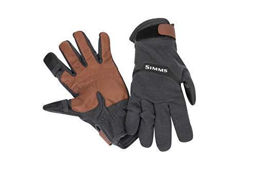 Simms LW Wool Tech-Handschuh – Carbon (Medium)