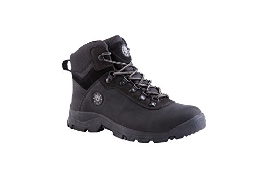 KINGSHOW Men's Water Resistance Rubber Sole Work Boots