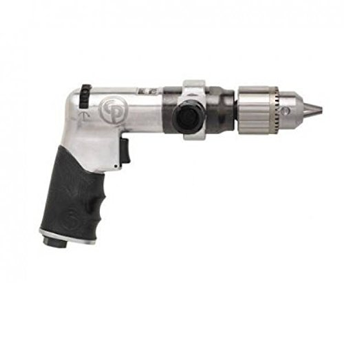 'Chicago Pneumatic 0001721 Reversible pistool boormachine, maximaal vermogen en paar, 1/2