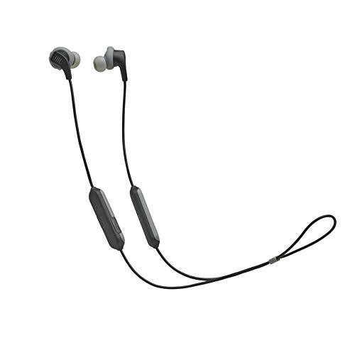 JBL Endurance Run BT - Auriculares (inalámbrico, tecnología FlipHook, almohadillas FlexSof, micrófono y mando integrado, resistencia al sudor IPX5)
