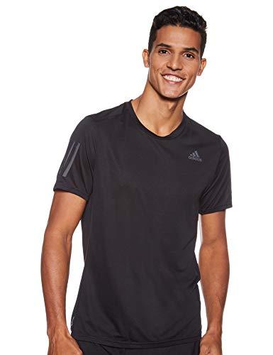 adidas Herren Kurzarm T-Shirt Response Cooler, Black, L, CG2190