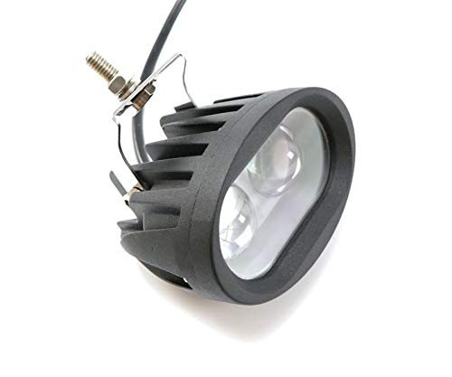 HAIHAOYF 20W 12V LED Luz de Trabajo Foco de luz Fog Lámpara de Niebla Offroad Luz de Trabajo para ATV SUV Motocicleta Camión Barco