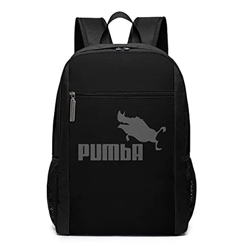Pumba Pig - Mochila de viaje para mujer, mochila de viaje, escuela, bolsa de hombro para ordenador portátil, para hombres, mujeres y niños