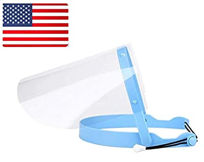 EFK-II Supply Adjustable Dental Face Shield with 10 Plastic Protective Film SHIP FROM US