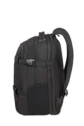 Samsonite Sonora - 15.6 zoll Laptoprucksack Erweiterbar, 45 cm, 34 L, Schwarz (Black)