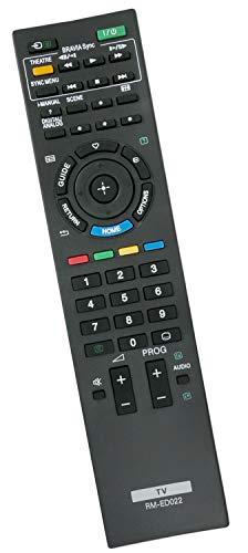 ALLIMITY RM-ED022 148782811 Fernbedienung Ersetzen für Sony Bravia LED LCD TV KDL-26EX401U KDL-32BX400 KDL-32EX401 KDL-32NX500 KDL-37EX401 KDL-37EX402 KDL-40EX401U KDL-46EX401 KDL-26EX302