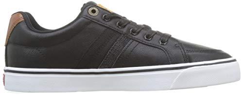 Levi's Footwear and Accessories Men's Turner Trainers, Black (Regular Black 159), 10 UK