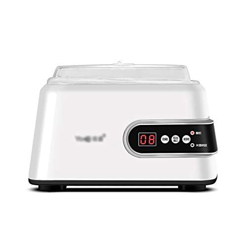 CLING Joghurtbereiter, Natto-Maschine, Reisweinmaschine1,3 L Edelstahlliner,mit Timer,Weiß, Watt 15 W