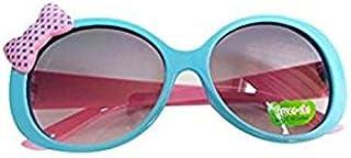 Buweiser - Gafas de sol infantiles con lazo para bebé, diseño de gafas de sol