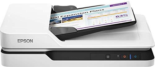 Epson WorkForce DS-1660W 600 x 600 DPI - Escáner (210 x 297 mm, 600 x 600 DPI, 1200 x 1200 DPI, 25 ppm, 25 ppm, Escáner de cama plana)