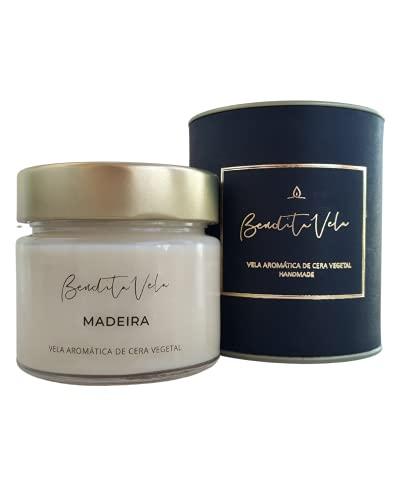 Vela Aromática Perfumada Madeira - Bendita Vela