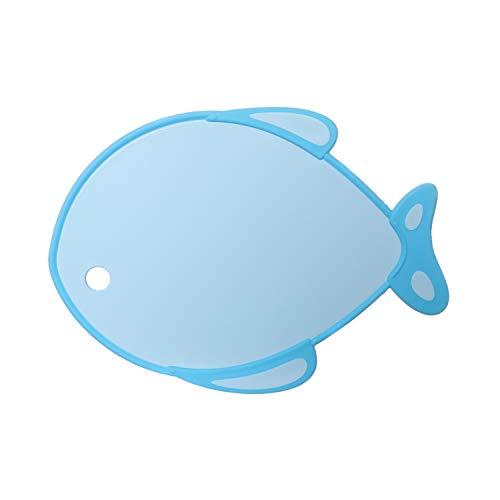 Tagliere a forma di pesce in plastica, da 26x37 cm