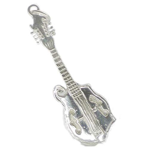 Mandoline/Gitarre, sterling-Silber 925, 1 Musik charms EC1009