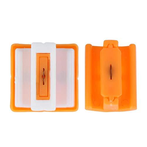 Starnear Papierschneidemaschine, Ersatzklingen, gerade, für A5 Papierschneider, Papierschneider, Scrapbooking