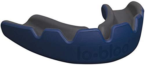 Lo Bloo Slick Professionele sportbescherming voor tanden, gebitten en gebitsbeschermer voor high contact sporten zoals MMA, boksen, voetbal, lacross, rugby en meer, BPA-vrij, voor volwassenen